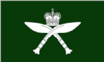 Royal Gurkhas Large Flag - 5' x 3'.